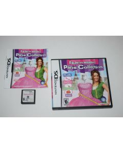 Fashion Studio Paris Collection Nintendo DS Video Game Complete