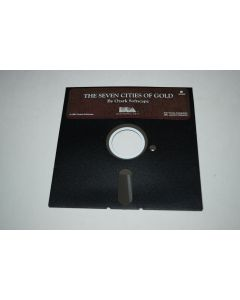 The Seven Cities of Gold Atari 400 800 Computer Video Game Floppy Disc