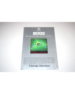 Bugs Atari 2600 Video Game Manual Only
