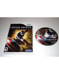 Captain America Super Soldier Nintendo Wii Game Disc w/ Case