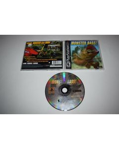 Monster Bass Playstation PS1 Video Game Complete