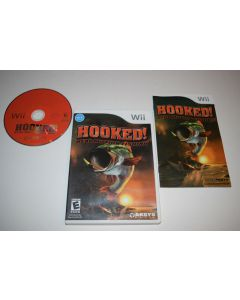 Hooked Nintendo Wii Video Game Complete