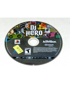 DJ Hero Playstation 3 PS3 Video Game Disc Only