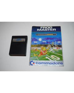 Frog Master Commodore 64 C64 Computer Video Game Cart w/ Manual