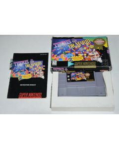 Tetris and Dr. Mario Players Choice Super Nintendo SNES Video Game Complete Box