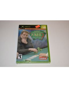 World Championship Poker 2 Howard Lederer Microsoft Xbox Video Game New Sealed