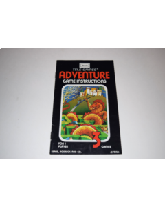 Adventure Sears Atari 2600 Video Game Manual Only