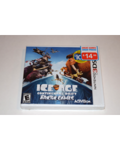 Ice Age Continental Drift Arctic Games Nintendo 3DS Video Game New Sealed