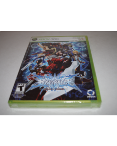 BlazBlue Calamity Trigger Microsoft Xbox 360 Video Game New Sealed