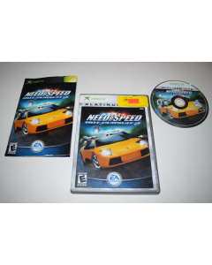 Need for Speed Hot Pursuit 2 Platinum Hits Microsoft Xbox Video Game Complete