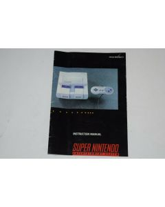 Super Nintendo Console SNES Video Game System Instruction Manual Only