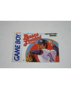 Bases Loaded Nintendo Game Boy Video Game Manual Only