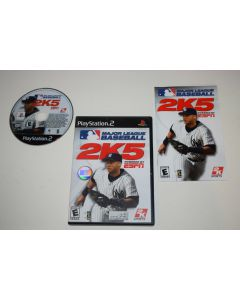 Major League Baseball 2K5 Playstation 2 PS2 Video Game Complete