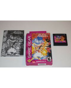 Disney's Aladdin Sega Game Gear Video Game Complete in Box