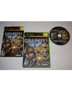 Call of Duty 3 Microsoft Xbox Video Game Complete