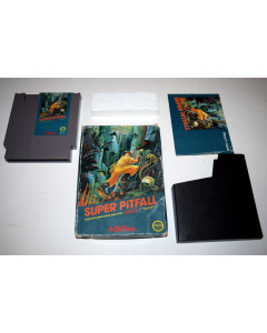 Super Pitfall 3 Screw Nintendo NES Video Game Complete in Box