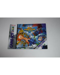 Buzz Lightyear of Star Command Nintendo Game Boy Color Video Game Manual Only