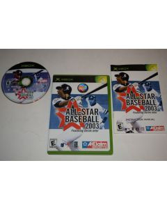 All-Star Baseball 2003 Microsoft Xbox Video Game Complete