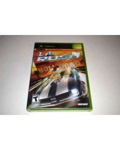 L.A. Rush Microsoft Xbox Video Game New Sealed
