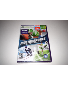 MotionSports Microsoft Xbox 360 Video Game New Sealed