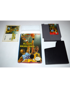 All-Pro Basketball Nintendo NES Video Game Complete in Box