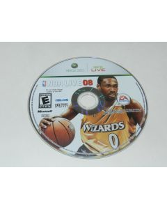 NBA Live 2008 Microsoft Xbox 360 Video Game Disc Only