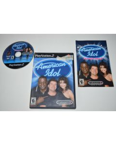 American Idol Playstation 2 PS2 Video Game Complete
