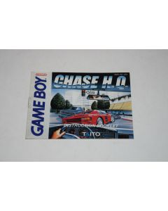 Chase H.Q. Nintendo Game Boy Video Game Manual Only