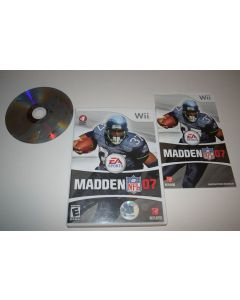 Madden 2007 Nintendo Wii Video Game Complete