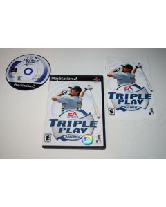 Triple Play Baseball Playstation 2 PS2 Video Game Complete