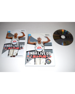NBA Live 09 All-Play Nintendo Wii Video Game Complete