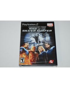 Fantastic 4 Rise of the Silver Surfer Playstation 2 PS2 Video Game New Sealed