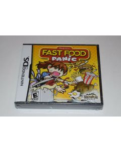 Fast Food Panic Nintendo DS Video Game New Sealed