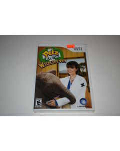 Petz Rescue Wildlife Vet Nintendo Wii Video Game New Sealed