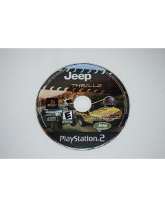 Jeep Thrills Playstation 2 PS2 Video Game Disc Only