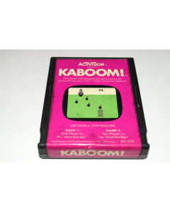 Kaboom Atari 2600 Video Game Cart