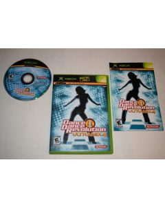 Dance Dance Revolution Ultramix 4 Microsoft Xbox Video Game Complete