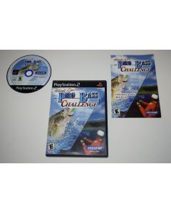 Mark Davis Pro Bass Challenge Playstation 2 PS2 Video Game Complete