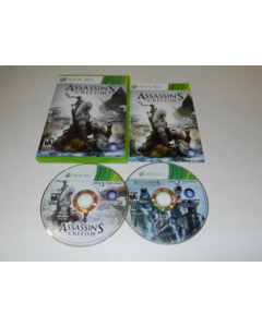 Assassin's Creed III Microsoft Xbox 360 Video Game Complete