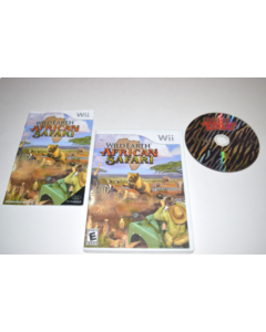 Wild Earth African Safari Nintendo Wii Video Game Complete