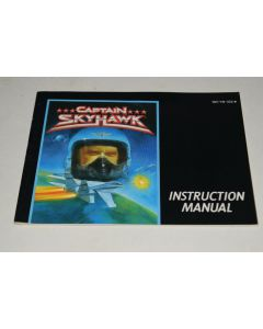 Captain Skyhawk Nintendo NES Video Game Manual Only