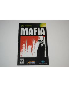 Mafia Microsoft Xbox Video Game Manual Only