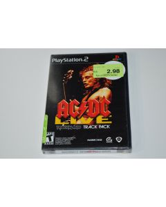 AC/DC Live Rock Band Track Pack Playstation 2 PS2 Video Game New Sealed