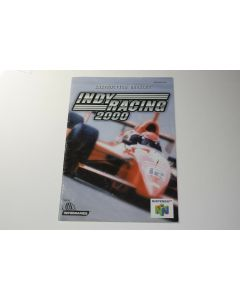 Indy Racing 2000 Nintendo 64 N64 Video Game Manual Only