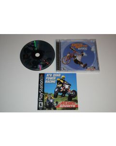 ATV Quad Power Racing Playstation PS1 Video Game Complete