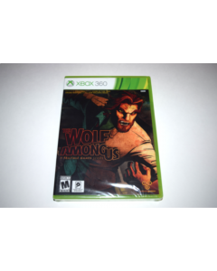 Wolf Among Us Microsoft Xbox 360 Video Game New Sealed