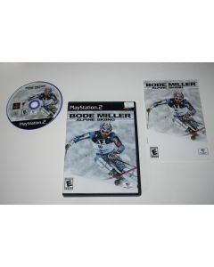 Bode Miller Alpine Skiing Playstation 2 PS2 Video Game Complete