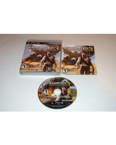 Uncharted 3 Drake's Deception Playstation 3 PS3 Video Game Complete