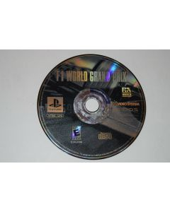 F1 World Grand Prix Playstation PS1 Video Game Disc Only