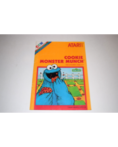 Cookie Monster Munch Atari 2600 Video Game Manual Only